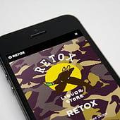 """Webseite | RETOX– Pop-Up Liquor Store"" von Marc Büttner"
