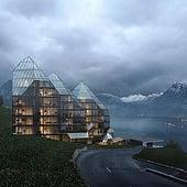 """""""3D Visualisierung Mehrfamilienhaus, Niederstein"""" von Render Vision"""