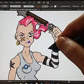 """Tank Girl"" from Kenneth Shinabery"