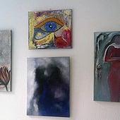 """Poetische Ölmalerei"" von Jana Paul"