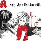 """""""Illustrationen für den Apotheken Rat"""" from Nina Schneider"""
