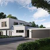 """""""Architekturvisualisierung einer privaten Villa"""" von Render Vision"""