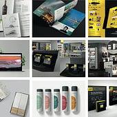 """Print-Digital-POS-Packaging Projekte 2017"" von Federico Laguzzi Design"