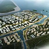 """Tsingtao city plan"" von Ming Xiao . M"