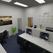 """""""3D Bürogebäude"""" von Geckow Events & Multimedia e.U."""