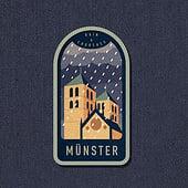 """Münster Badges"" von Stefan Große Halbuer"