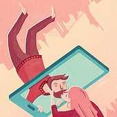 """Editorial Illustration"" von Jennifer van de Sandt"