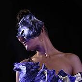 """""""3d filament + lenticular mask & costume designs"""" von Özgür Erkök Moroder"""