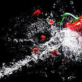 «Food/ Dark Mood/ Produkt/ Werbefotografie» von Christine Sponchia