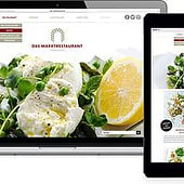 """Website Marktrestaurant"" von Léa Zier"