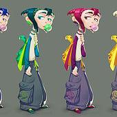 """""""Character Design"""" von Vivien Lulkowski"""