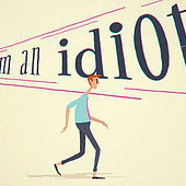 """""Idiot"" lyrics video"" von Cristian Wiesenfeld"