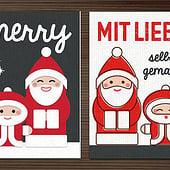 """""""Bastelset für Nikolauskarten"""" von Iris Luckhaus"""