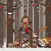 """""""Weihnachten mit Lily Lux"""" von Iris Luckhaus"""