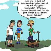 """""""Cartoons"""" von Anika Janneck"""