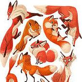 """Character Design"" von Sarah-Lisa Hleb Illustration"
