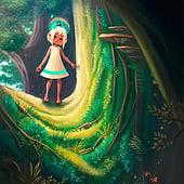 """Childrens Book Concept"" von Sarah-Lisa Hleb Illustration"