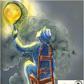 """""""Mann und Mond"""" von Sarah Bethke"""