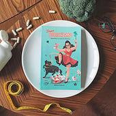 """""""Book Cover """"Frau Bodenschlampe"""""""" von Sarah-Lisa Hleb Illustration"""