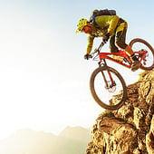 """""""Mountainbiking"""" von Max Draeger"""