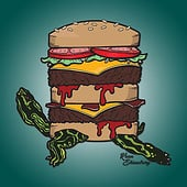"""Turtle Burger"" von Kenneth Shinabery"