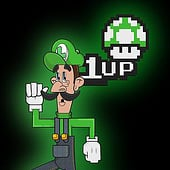 """Nintendo Super Mario Brothers: Luigi"" von Kenneth Shinabery"