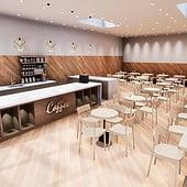 """Coffee Shop"" von Stephan Rüb"