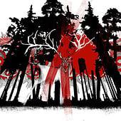 """""""God of Forest"""" von Bettina Warth"""