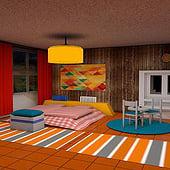 """""""Interior 3D mit Cinema4D"""" von Alexander Hoetter"""
