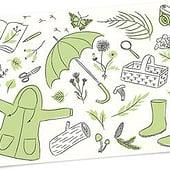 """""""Tier- & Pflanzenillustrationen"""" von Sommerwiese Illustration"""