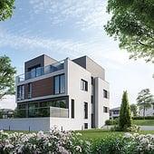 """""""Architekturvisualisierung Einfamilienhäuser"""" von Render Vision"""