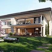 """""""Architekturvisualisierung, Luxusvilla"""" von Render Vision"""