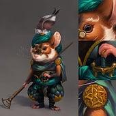 """""""Fantasy Character Art"""" von Vivien Lulkowski"""