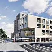 """""""Architekturvisualisierung Pasing Central"""" von Render Vision"""