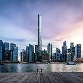 """""""Singapur City Rendering"""" von Render Vision"""