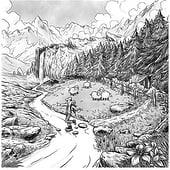 """Auftrags-Illustration"" von Rino Pelli"