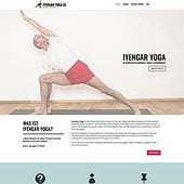"""Yoga Website"" von Birgitte Tüpker"