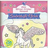"""Designers: """"Mein Glitzer Sticker Malspaß, Zauberhafte Pferde"""" from Simone Fischer"""