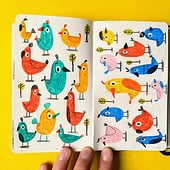 "Agencies: ""Sketchbook"" from Valerie Sindelar Illustration"