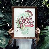 «Wilde Möhre Festival Logo & Design» von Ellen Schinke