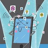 """""""Socialmedia"""" von Frederick Strasche"""