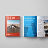 """GO OUT! Magazin"" from Aileen Burkhardt"