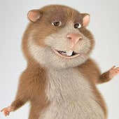 """""""Cartoon Hamster"""" von Robert Kuczera"""