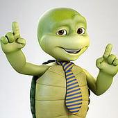 """""""Cartoon 3D Schildkröte"""" von Robert Kuczera"""