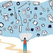 """""""Carlotta Klee // Illustrationen digitale Bildung"""" von Carlotta Klee"""