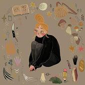 """""""Illustration"""" von India Uhlig"""