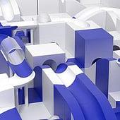 """""""3D für Klient"""" von Thomas Frenkel"""