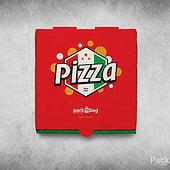 """""""Pizzakarton bedruckt mit Logo oder Motiv"""" von PacknBag Deutschland"""