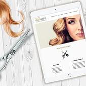 «Corporate Design Print & Web   Evelyns Haarwerk» von m2visual   Kommunikation…