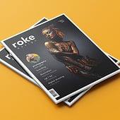 """""""roke Magazin"""" von Ken Jatho"""
